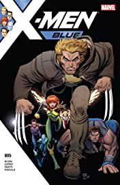 X-Men: Blue (2017-) #5
