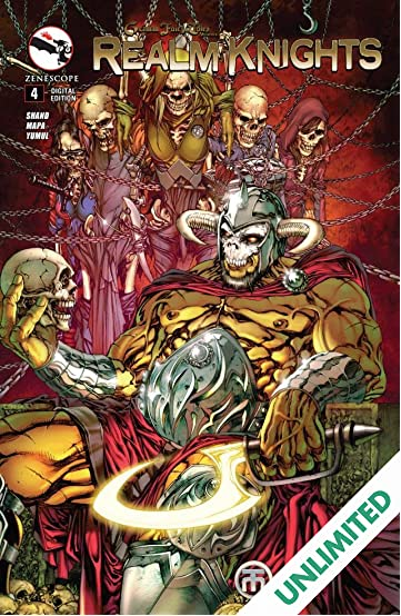 Realm Knights #4 (of 4)