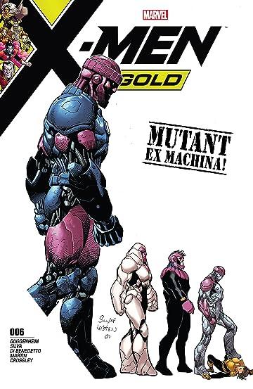 X-Men Gold (2017-2018) #6