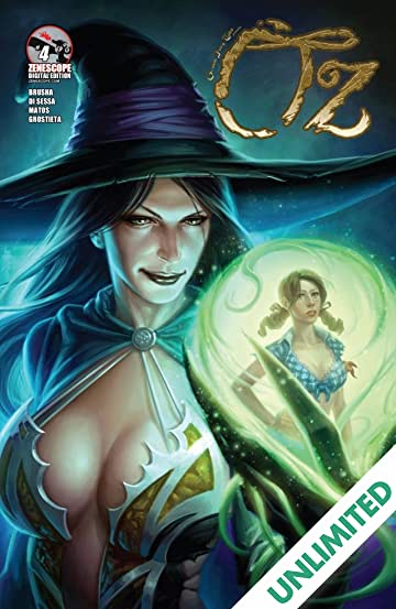 Grimm Fairy Tales: Oz #4 (of 6)