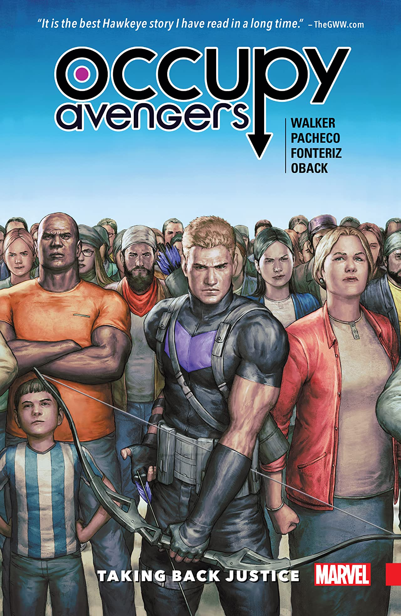 Occupy Avengers Vol. 1: Taking Back Justice