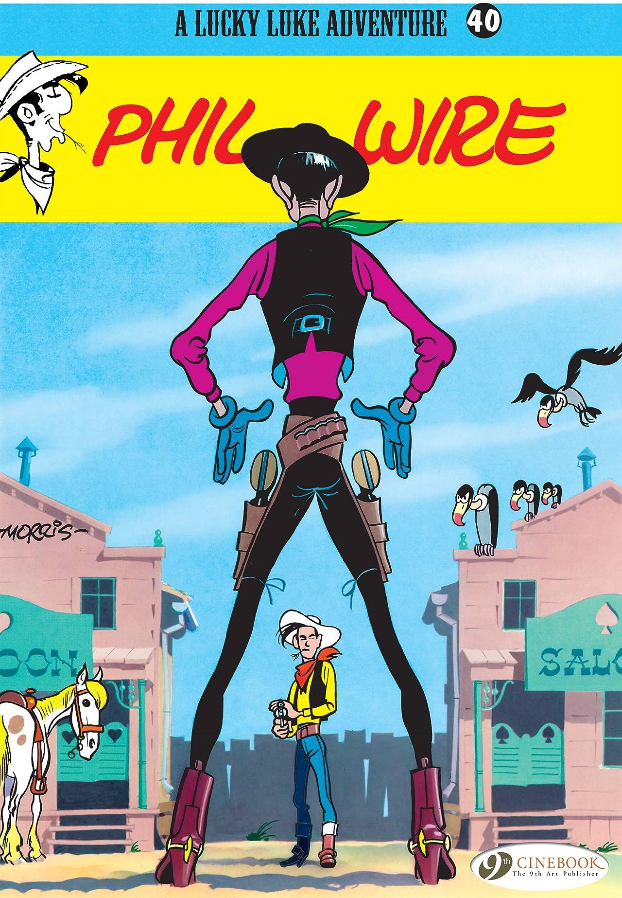 Lucky Luke Vol. 40: Phil Wire