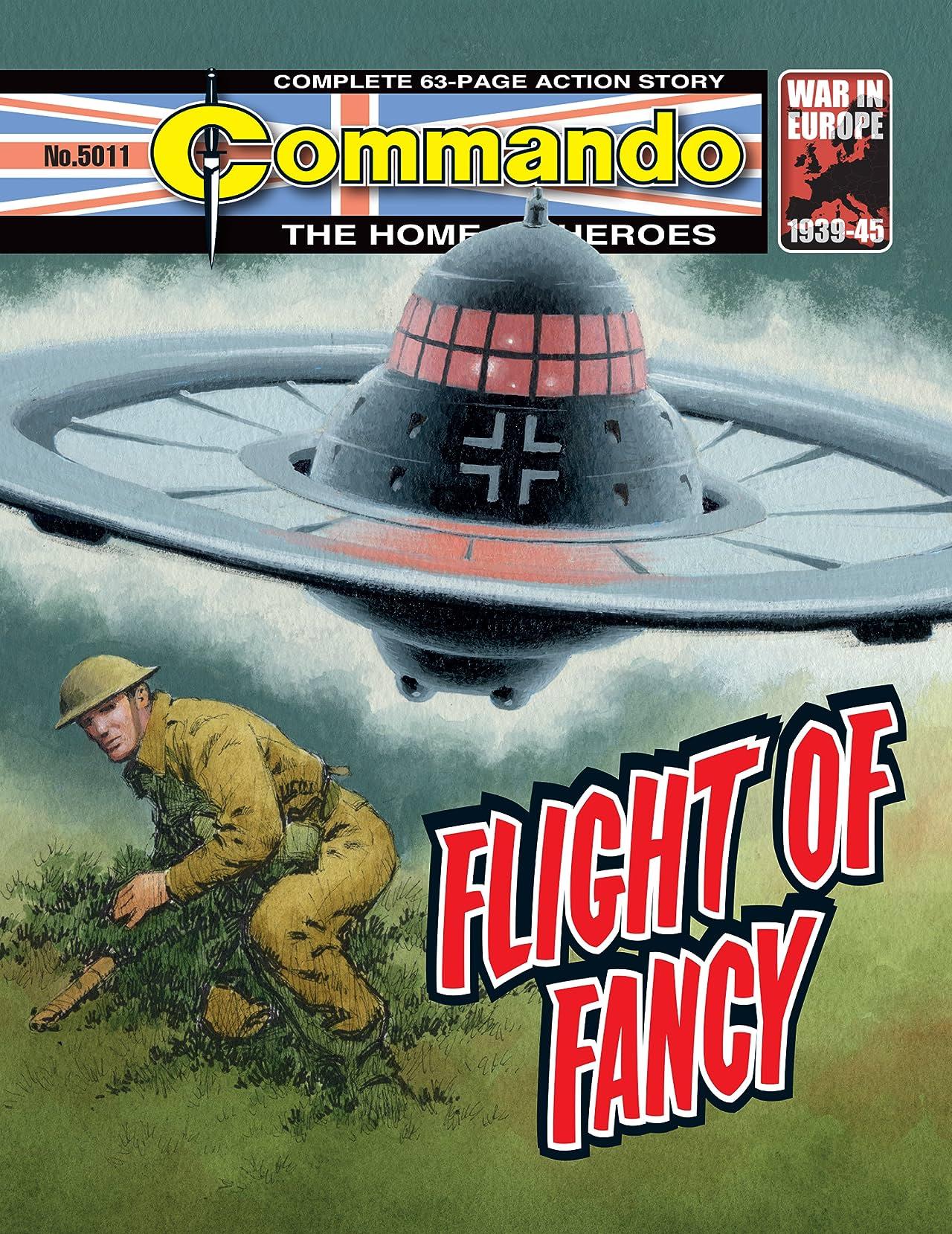 Commando #5011: Flight Of Fancy