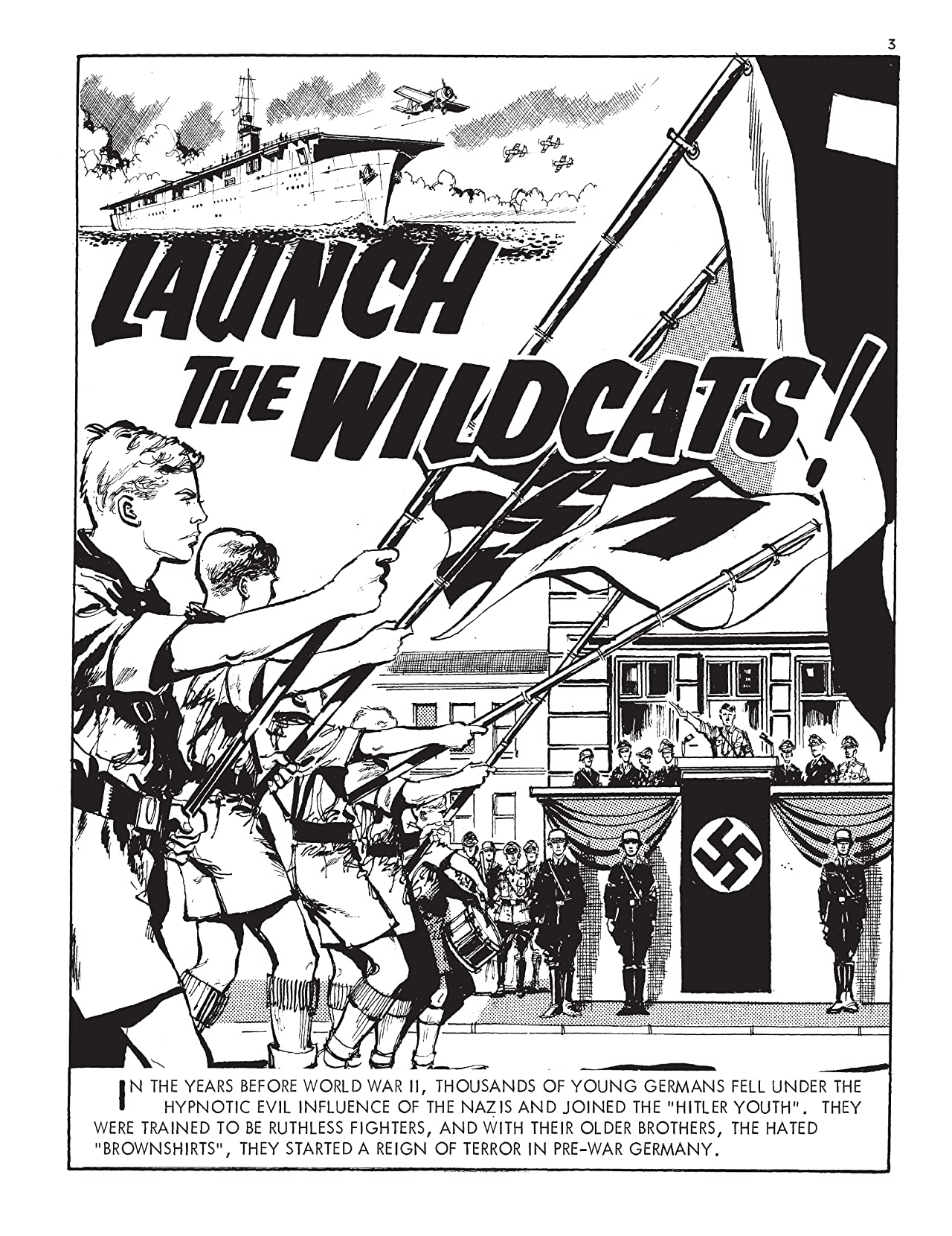 Commando #5012: Launch The Wildcats!