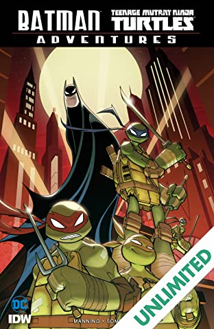 Batman/Teenage Mutant Ninja Turtles Adventures