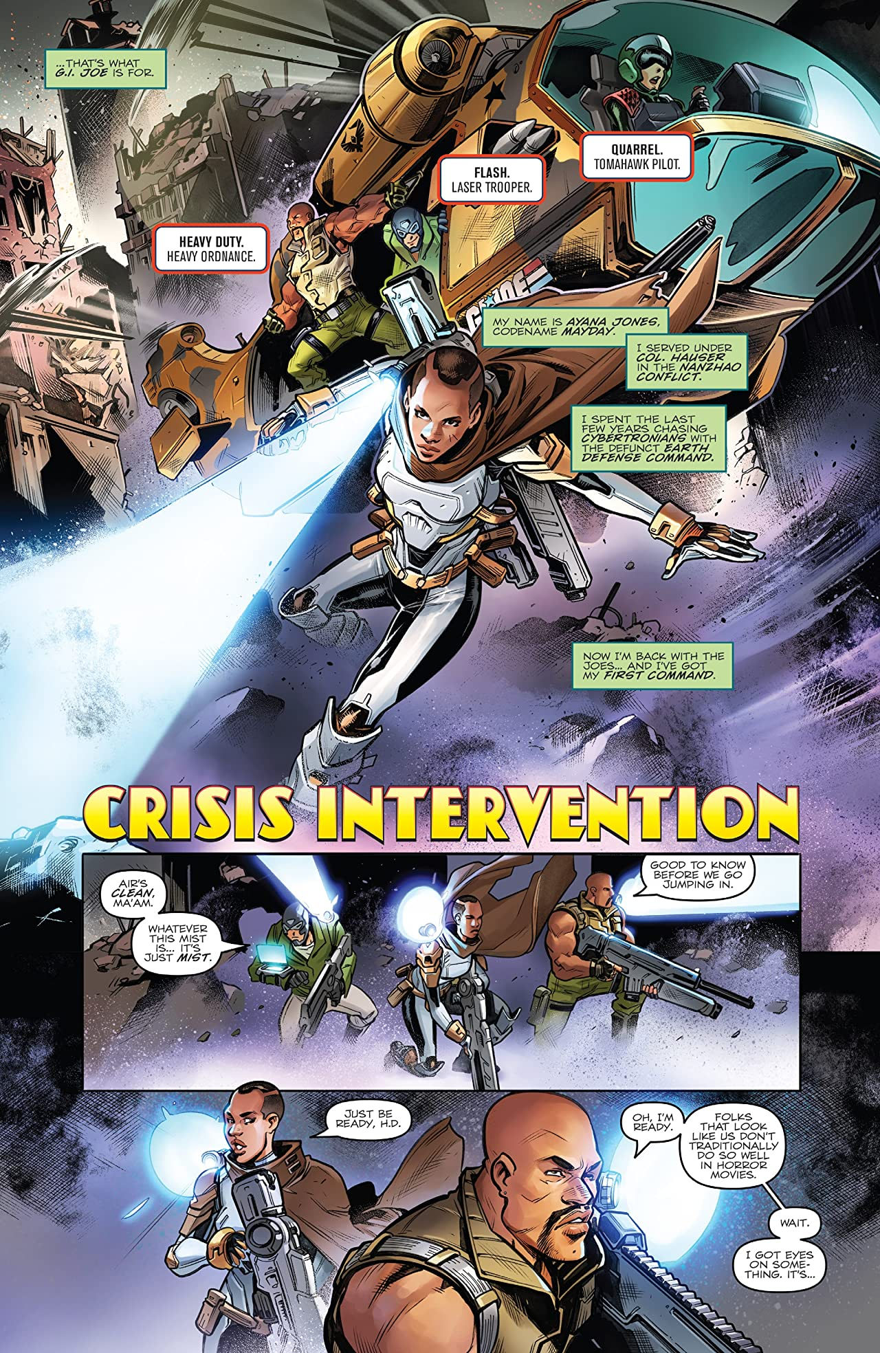 Revolutionaries Vol. 1: Crisis Intervention