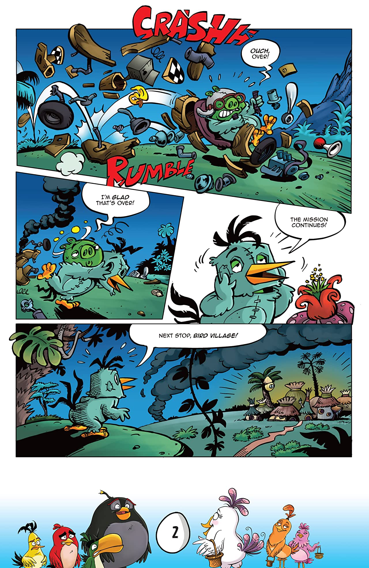 Angry Birds: Flight School #3