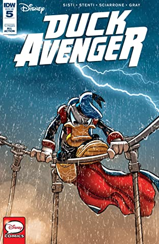 Duck Avenger No.5