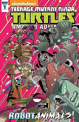 Teenage Mutant Ninja Turtles: Amazing Adventures: Robotanimals! #1 (of 3)