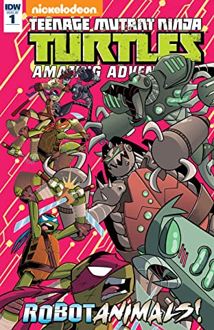 Teenage Mutant Ninja Turtles: Amazing Adventures: Robotanimals! #1 (of 3)