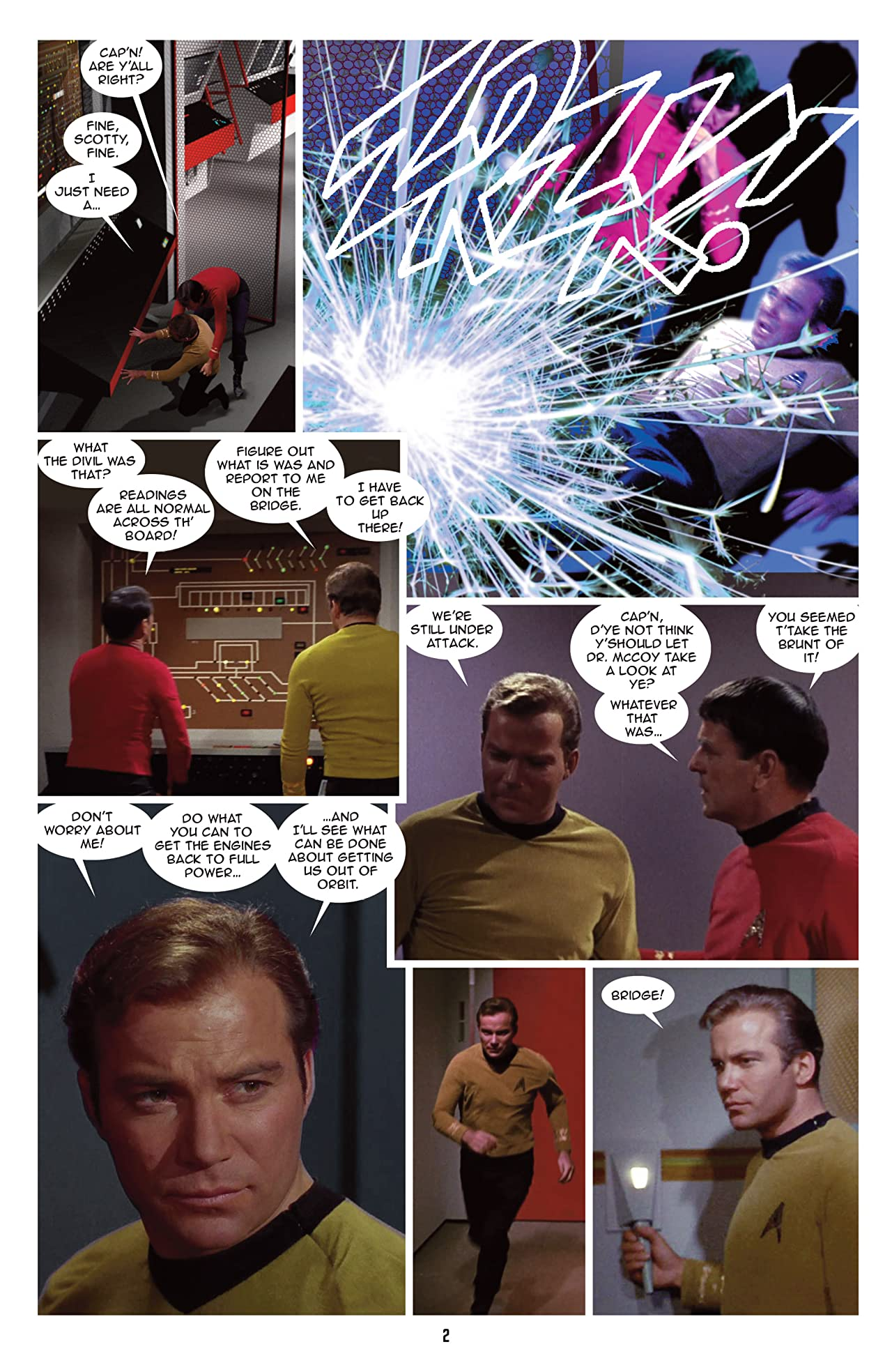 Star Trek: New Visions #16: Time Out of Joint