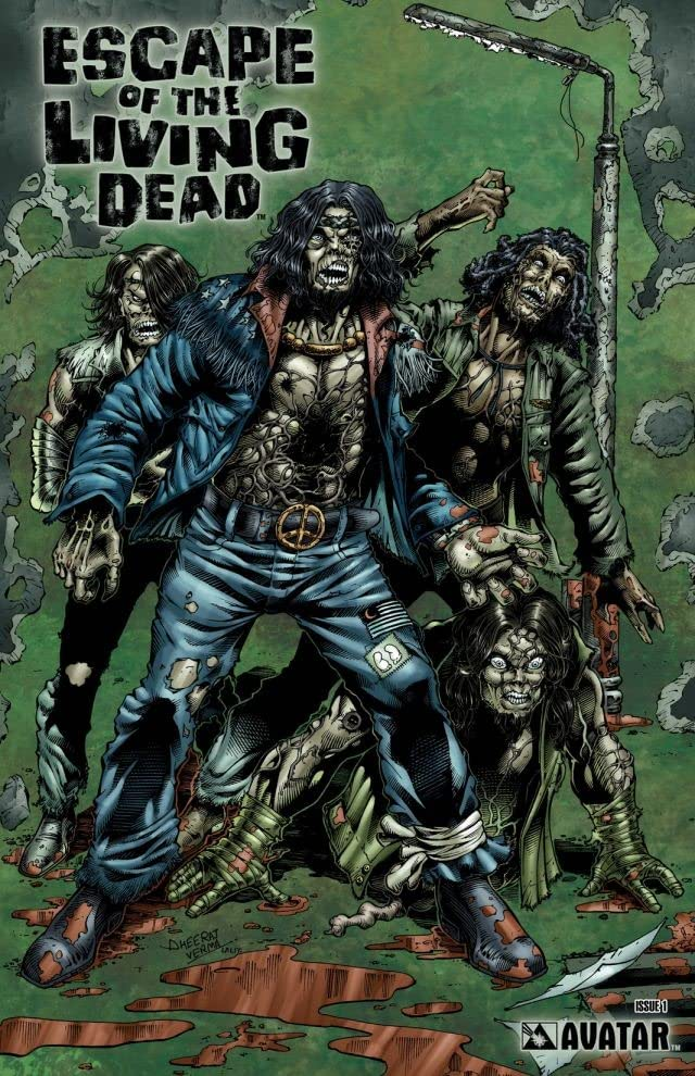 Escape of the Living Dead #1