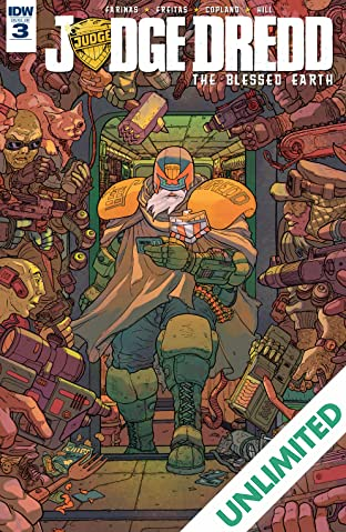 Judge Dredd: The Blessed Earth #3