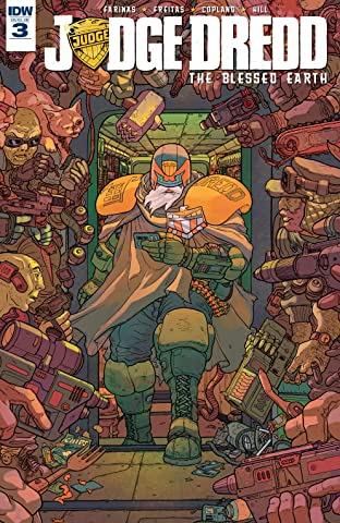 Judge Dredd: The Blessed Earth No.3