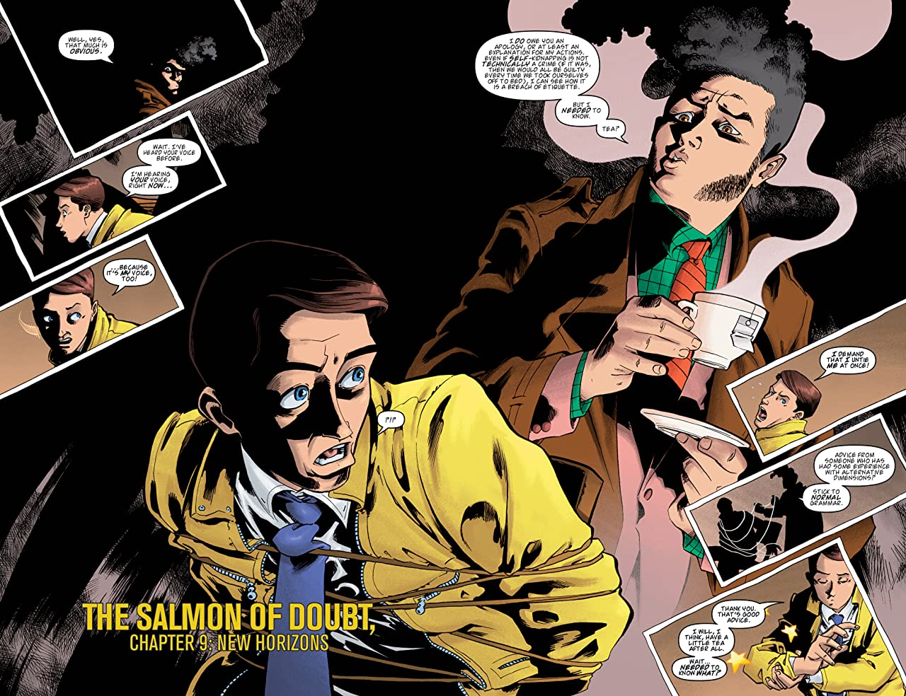 Dirk Gently: The Salmon of Doubt #9