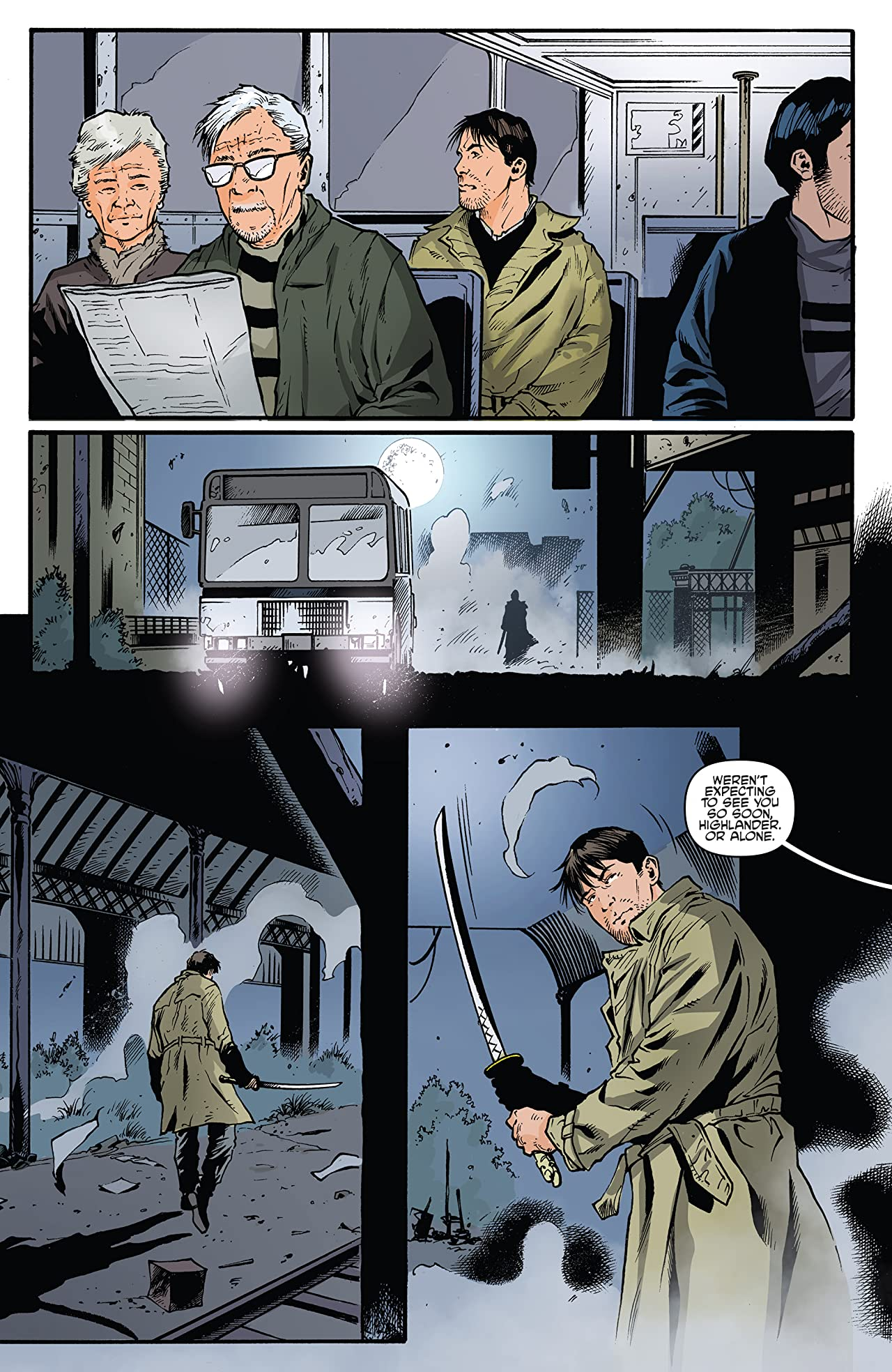 Highlander: The American Dream #5