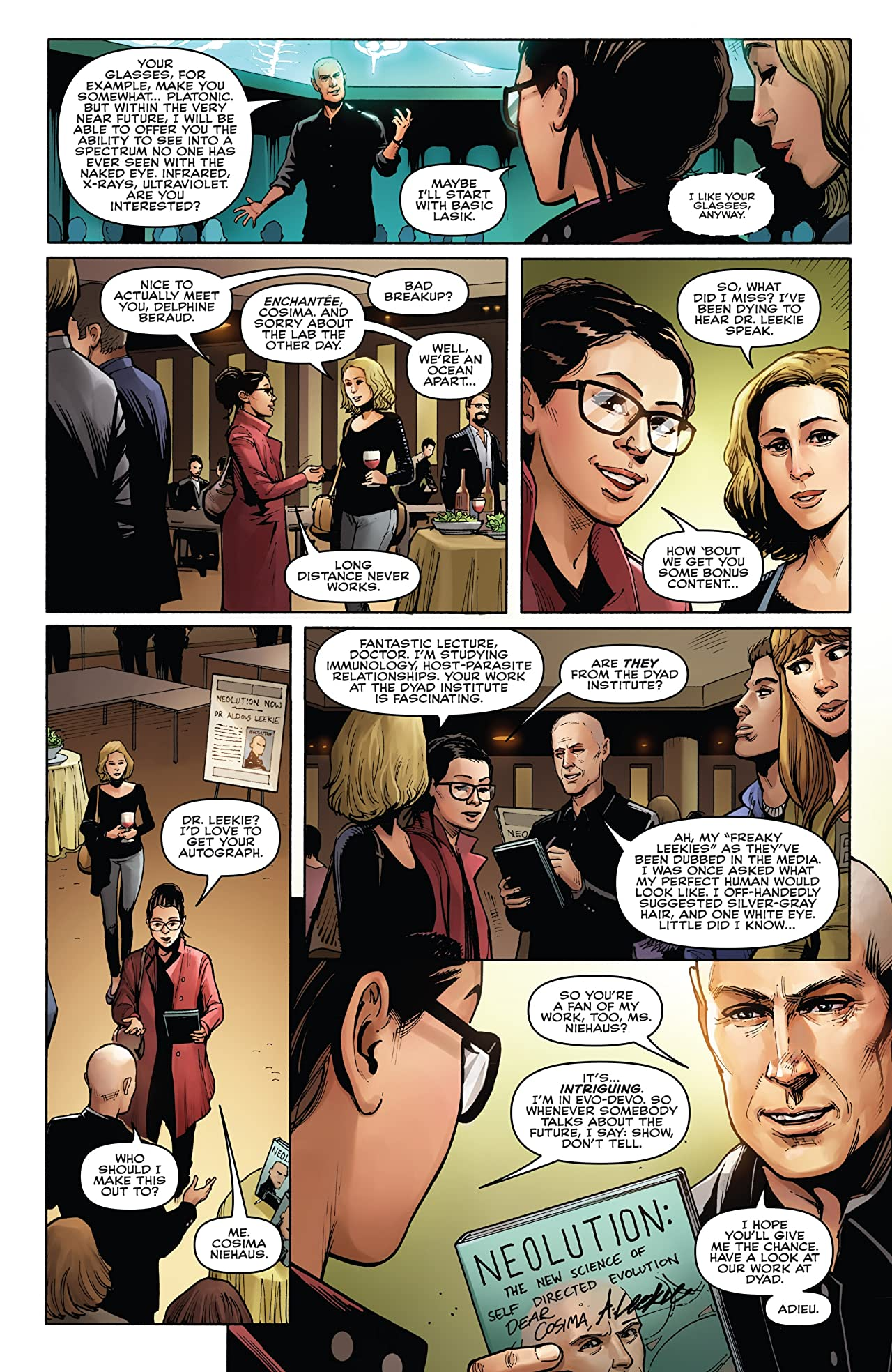 Orphan Black: Deviations #4 (of 6)