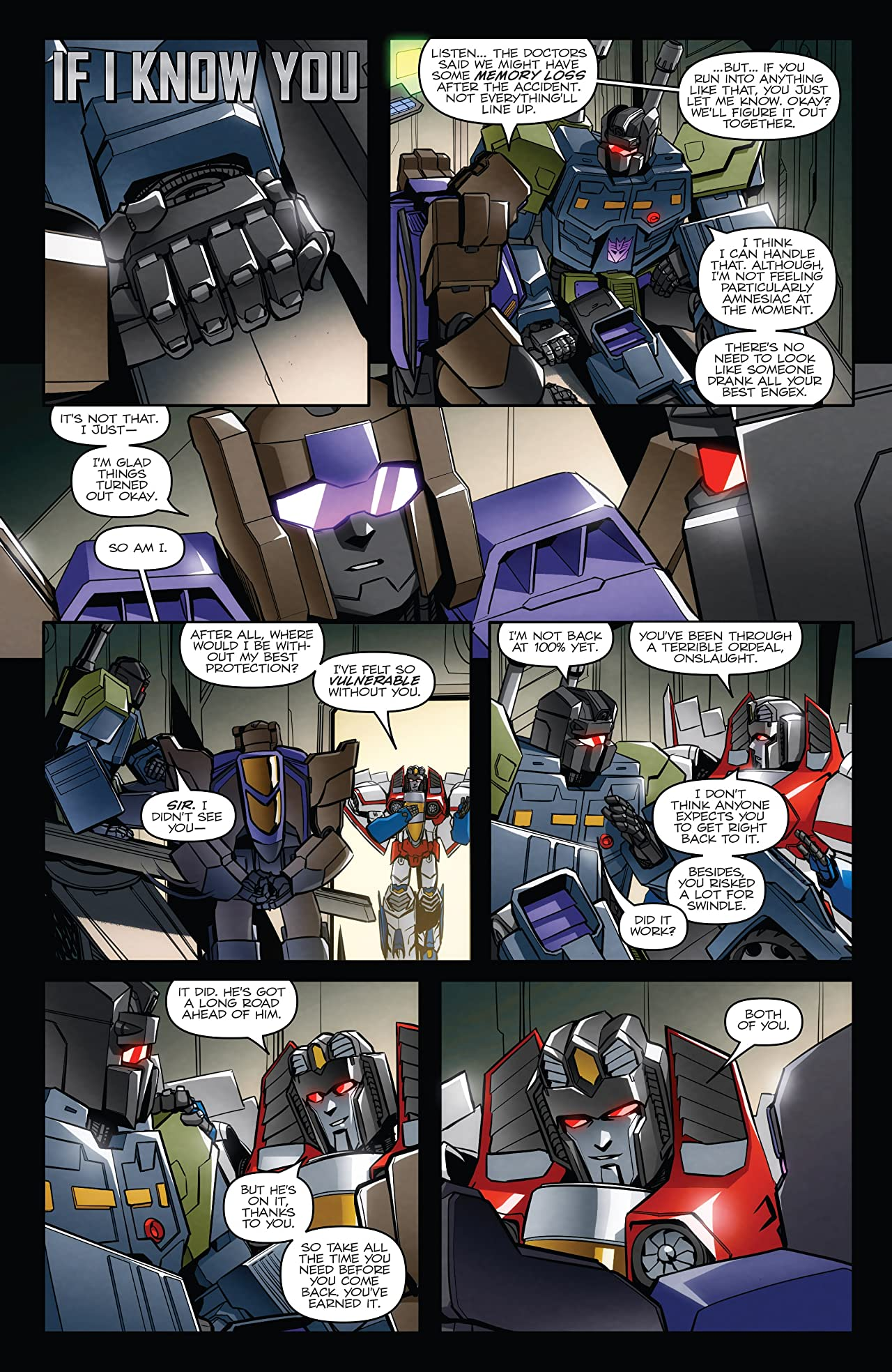 Transformers: Till All Are One #11