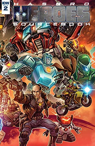 Hasbro Heroes Sourcebook #2 (of 3)