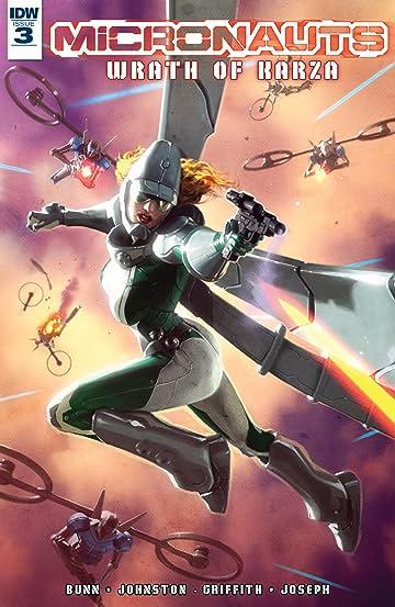 Micronauts: Wrath of Karza #3 (of 5)
