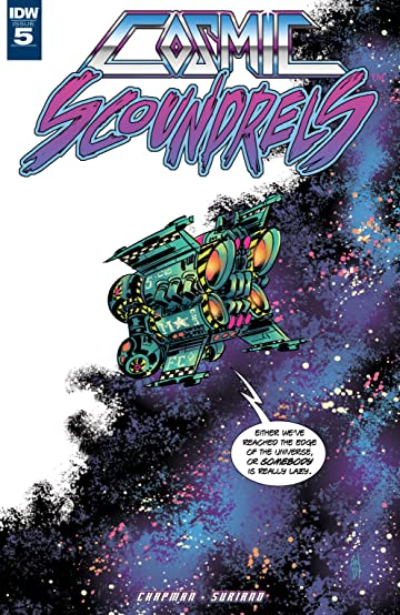 Cosmic Scoundrels #5 (of 5)