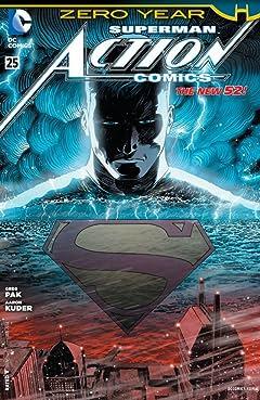 Action Comics (2011-2016) #25