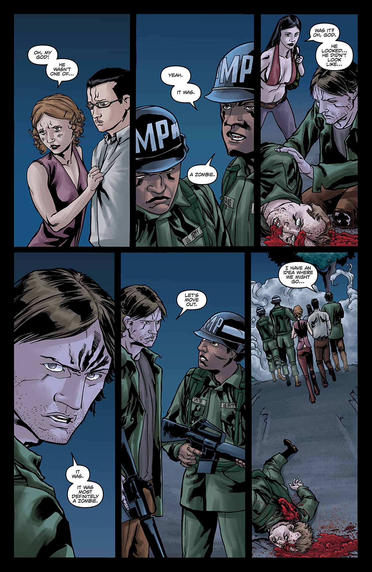Night of the Living Dead #5 (of 5)