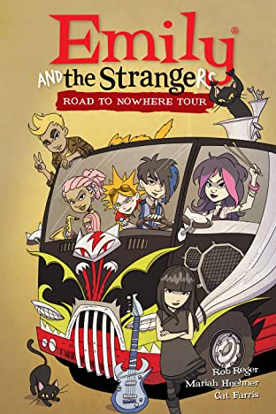 Emily and the Strangers Tome 3: Road to Nowhere Tour