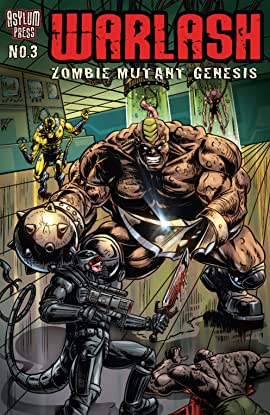 Warlash: Zombie Mutant Genesis #3 (of 3)