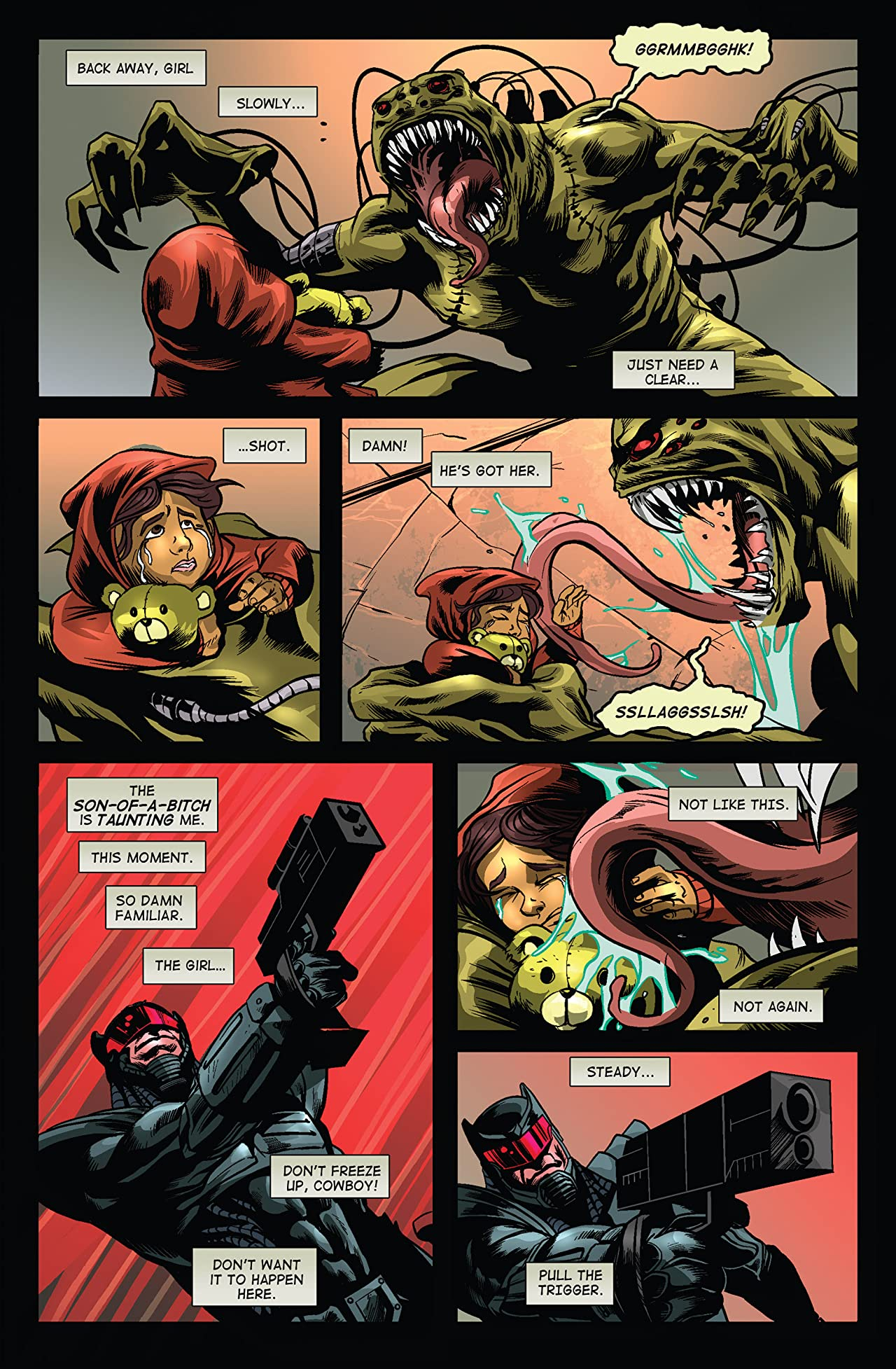 Warlash: Zombie Mutant Genesis #3 (of 3)