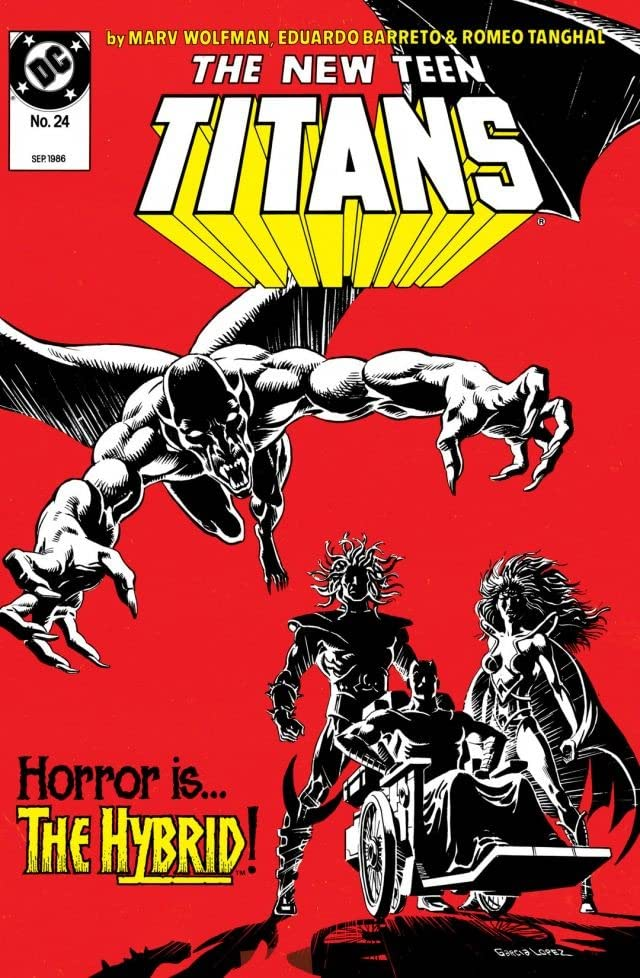 The New Teen Titans (1984-1996) #24