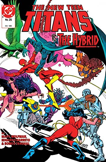 The New Teen Titans (1984-1996) #25