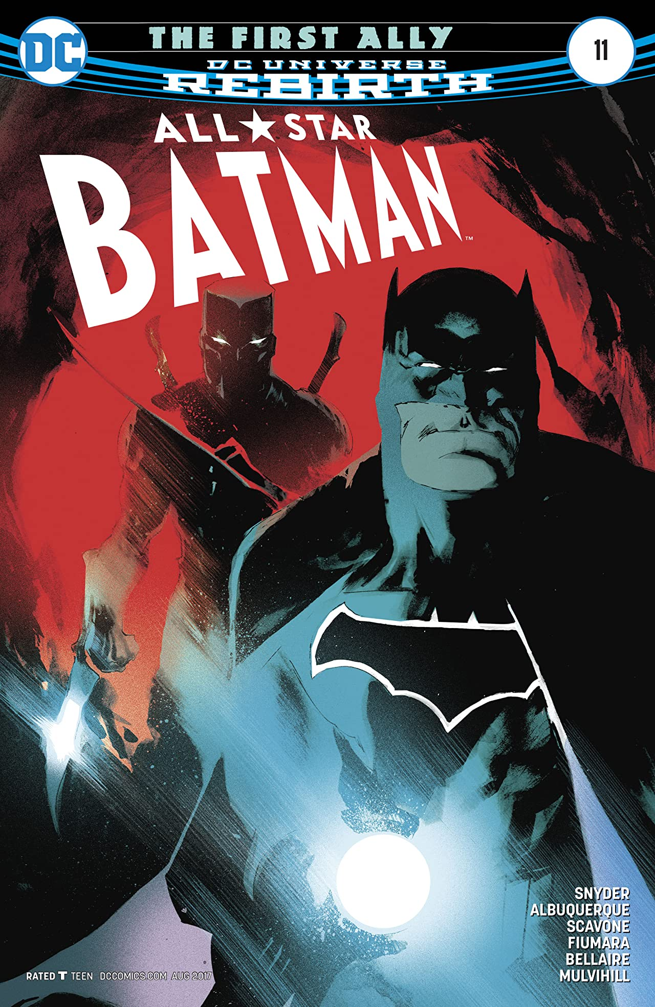All-Star Batman (2016-2017) #11
