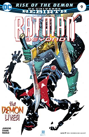 Batman Beyond (2016-) No.9