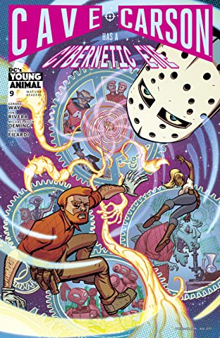 Cave Carson Has a Cybernetic Eye (2016-2017) #9