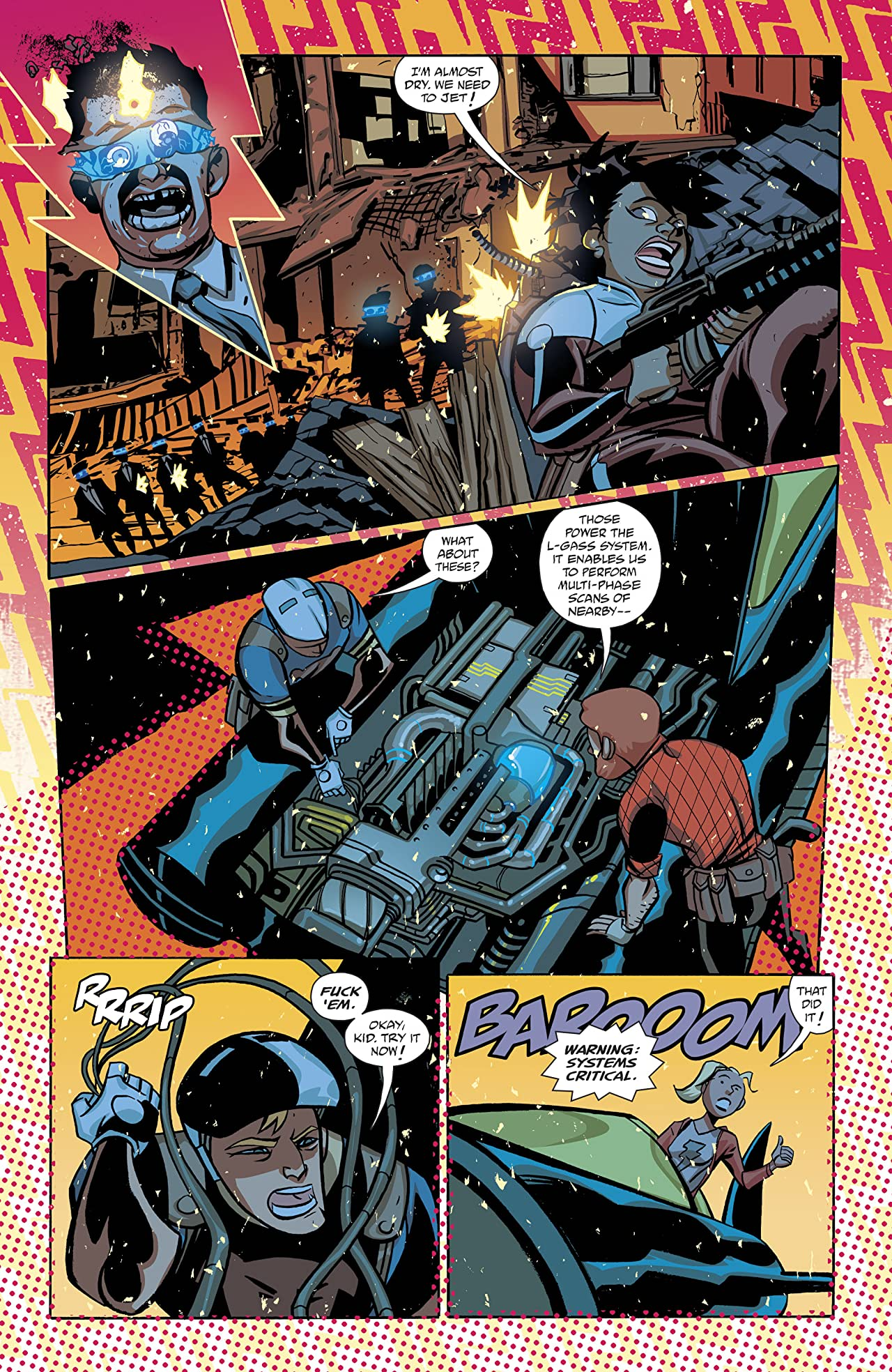 Cave Carson Has a Cybernetic Eye (2016-) #9