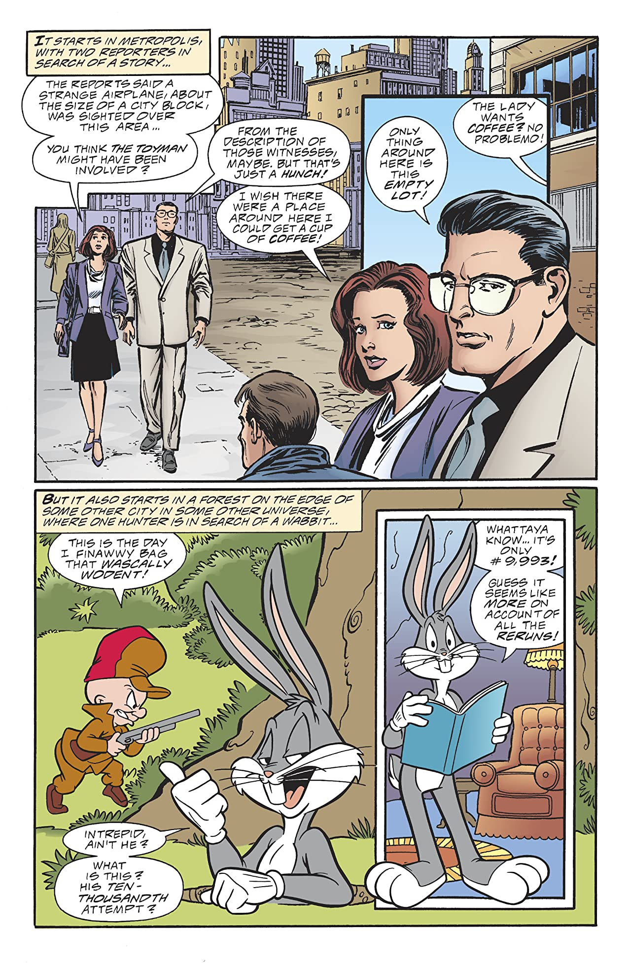 DC/Looney Tunes 100Page Spectacular (2017) #1