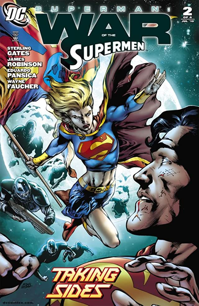 Superman: War of the Supermen #2