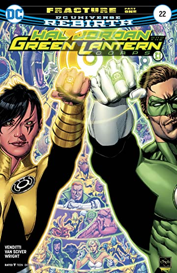 Hal Jordan and The Green Lantern Corps (2016-) #22