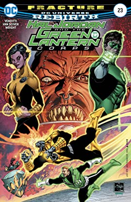 Hal Jordan and the Green Lantern Corps (2016-2018) #23