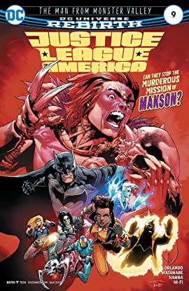Justice League of America (2017-2018) #9