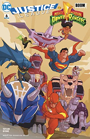Justice League/Power Rangers (2017) No.6
