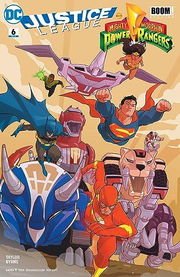 Justice League/Power Rangers (2017) #6