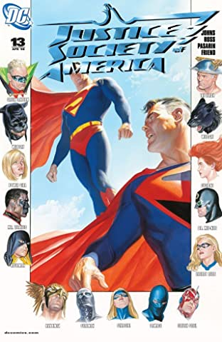 Justice Society of America (2007-2011) No.13