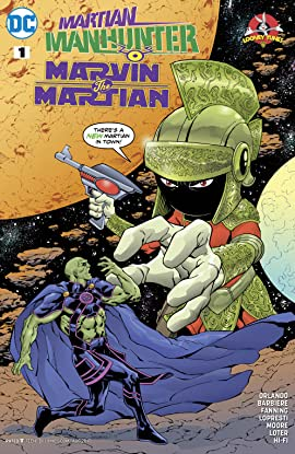 Martian Manhunter/Marvin the Martian Special (2017) #1