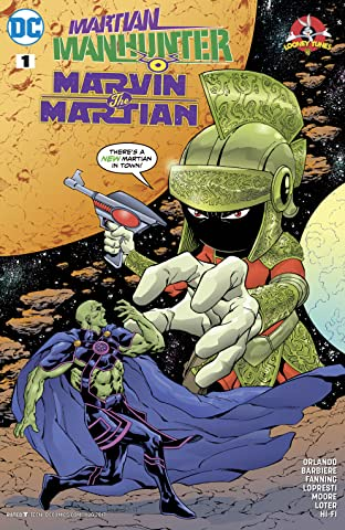 Martian Manhunter/Marvin the Martian Special (2017) #1