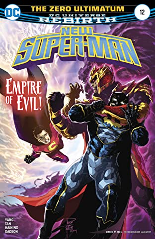 New Super-Man (2016-2018) #12