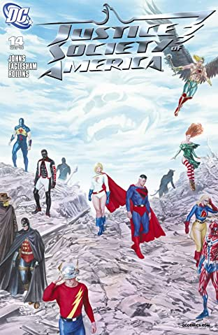 Justice Society of America (2007-2011) No.14