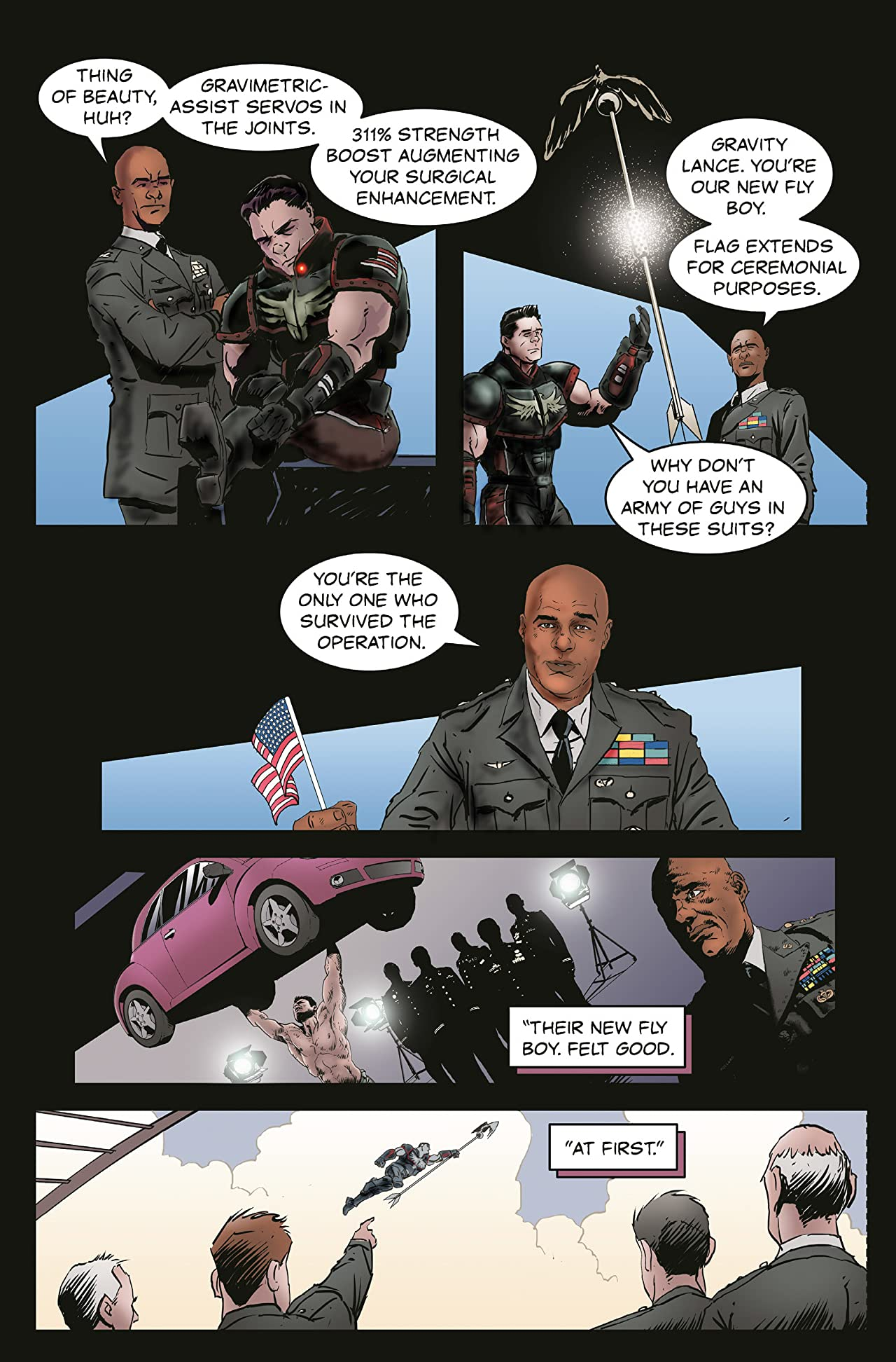 Lou Ferrigno: Liberator #0