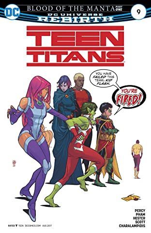 Teen Titans (2016-) No.9